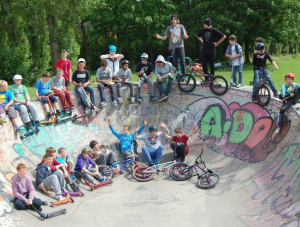 Lostock Community Partnership - the Skate Bowl