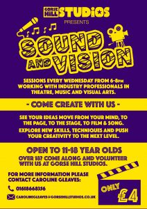 Gorse Hill Studios Presents Sound And Vision